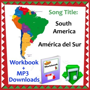 Geography Product Categories SingingSombrerocom - South america capital song